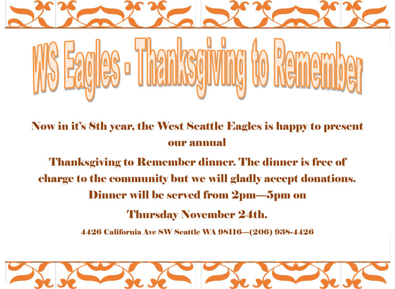 Thanksgiving to Remember
